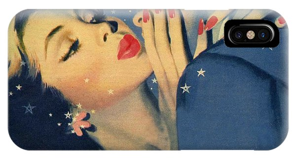 Valentines Day iPhone Case - Kiss Goodnight by English School