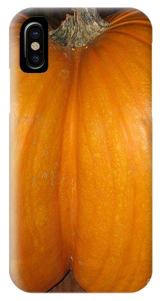 Butt Crack Pumpkin IPhone Case