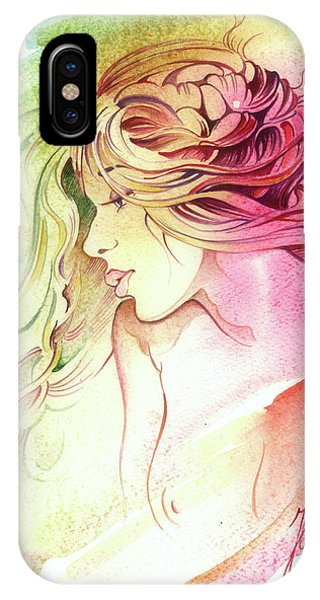 Kiss Of Wind IPhone Case