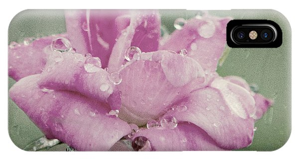 Kissed By The Rain IPhone Case