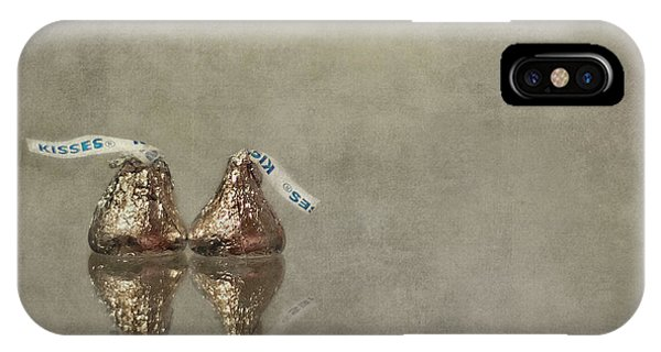 Reflection iPhone Case - Kisses by Evelina Kremsdorf