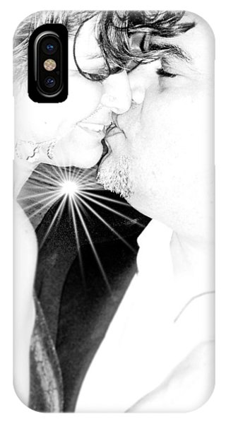 Kissesssssss...... IPhone Case