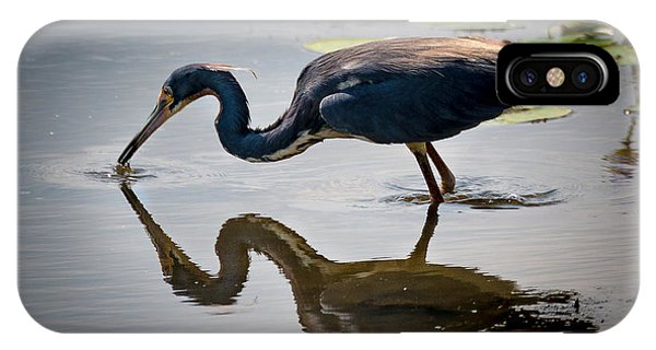 Kissing Heron IPhone Case