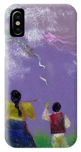 Kite Flying Phone Case by Mui-Joo Wee