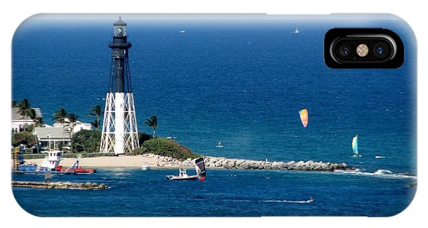Kitesurfing And More At Pompano IPhone Case