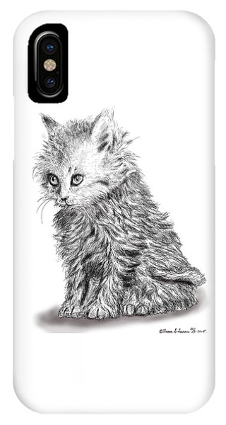 Kitten #1 IPhone Case