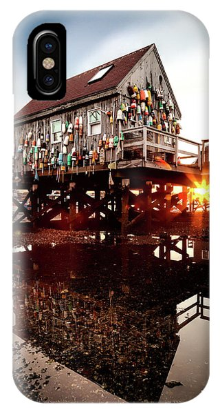 Kittery Lobster Shack IPhone Case