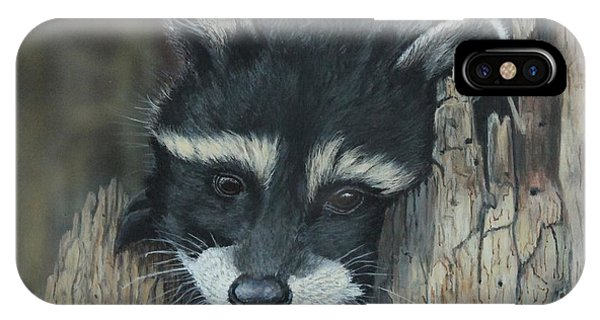 Kit...the Baby Raccoon IPhone Case