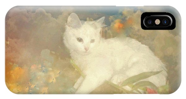 Kitty Art Precious By Sherriofpalmsprings IPhone Case