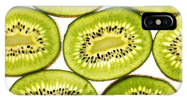 Kiwi Fruit II IPhone Case