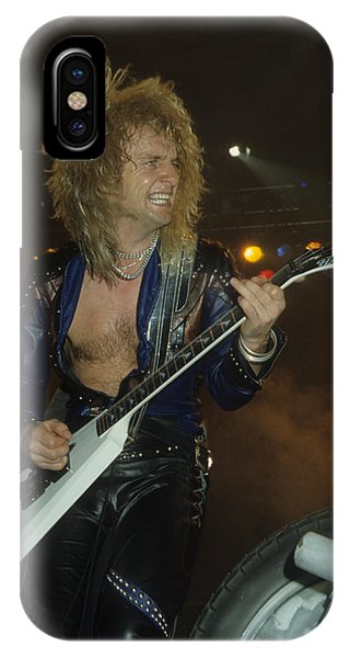 Kk Downing Of Judas Priest IPhone Case