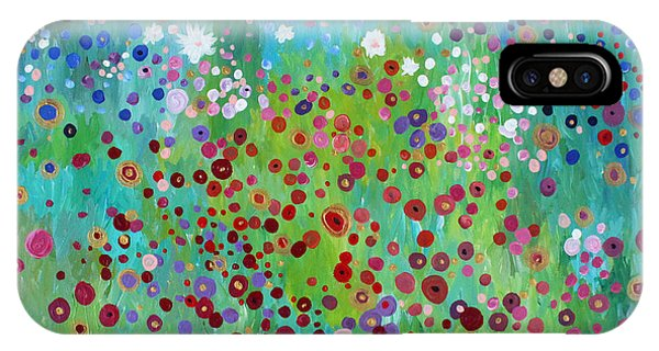 Klimt's Garden IPhone Case