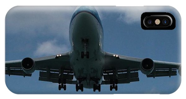 Klm Boeing 747 IPhone Case
