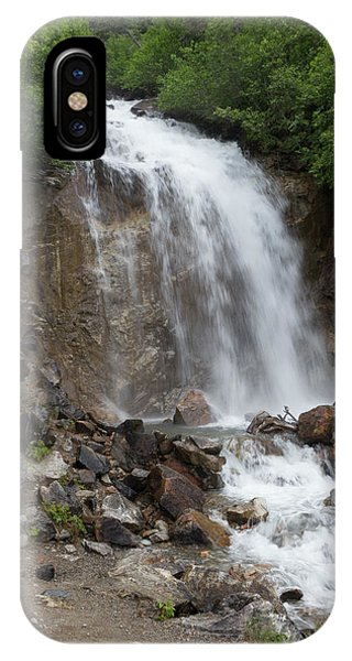 Klondike Waterfall IPhone Case