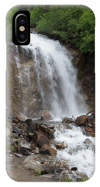 Klondike Waterfall IPhone Case