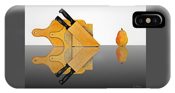 Knife Block, Cutting Boards And Pear IPhone Case