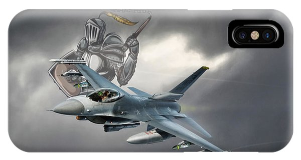 Viper iPhone Case - Knight Of The Sky by Peter Chilelli