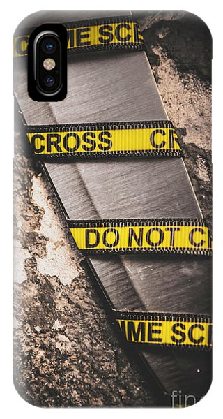 Cement iPhone Case - Knives And Clues by Jorgo Photography - Wall Art Gallery