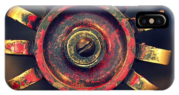 Timeworn iPhone Case - Knob by Joseph Skompski