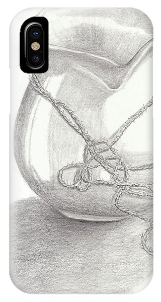 Knots On Vase Study IPhone Case