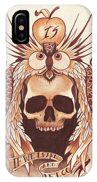 iPhone Case - Knowledge by Deadcharming Art