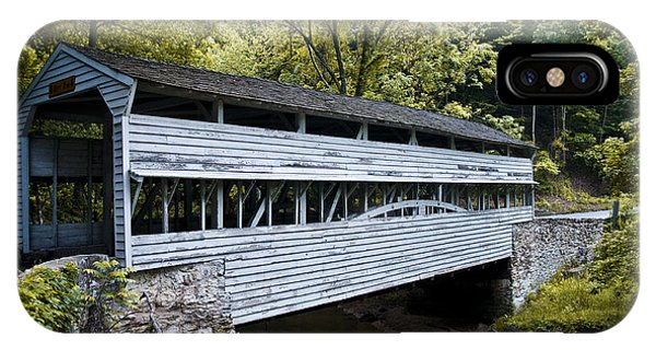 Knox Covered Bridge - Valley Forge IPhone Case