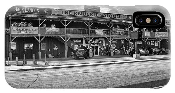 Knuckle Saloon Sturgis IPhone Case