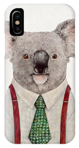 Retro iPhone Case - Koala by Animal Crew