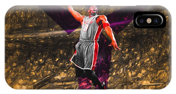 Kobe Bryant Black Mamba Digital Painting IPhone Case