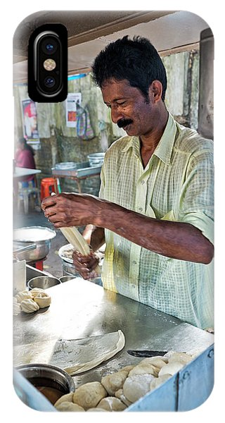 Kerala iPhone Case - Kochi Stall by Marion Galt