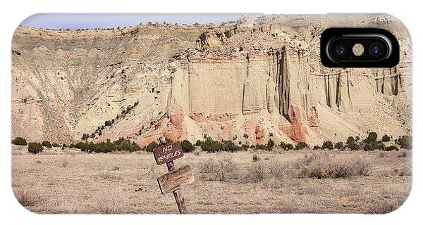 Kodachrome Flat Chimney Rock IPhone Case