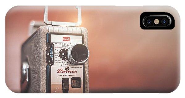 Cameras iPhone Case - Kodak Brownie 8mm by Scott Norris