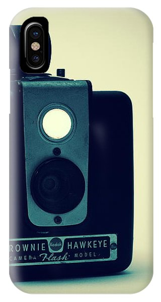 IPhone Case featuring the photograph Kodak Brownie by Bob Orsillo