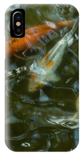 IPhone Case featuring the photograph Koi IIi by Break The Silhouette