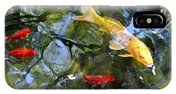 Koi Pond 2 IPhone Case