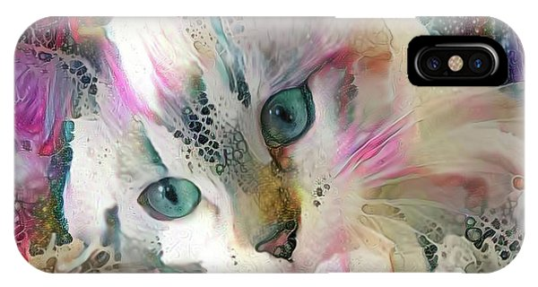 Koko The Siamese Kitten IPhone Case