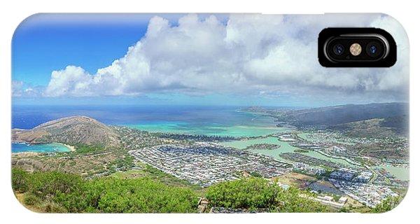 Kokohead Oahu, Hawaii IPhone Case