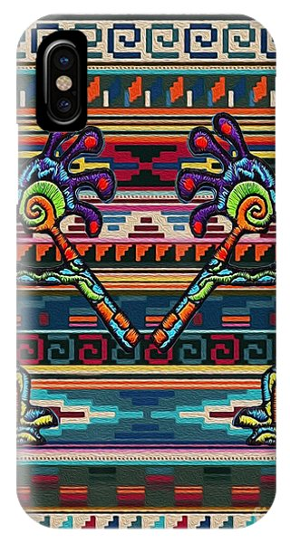 Kokopelli Art IPhone Case