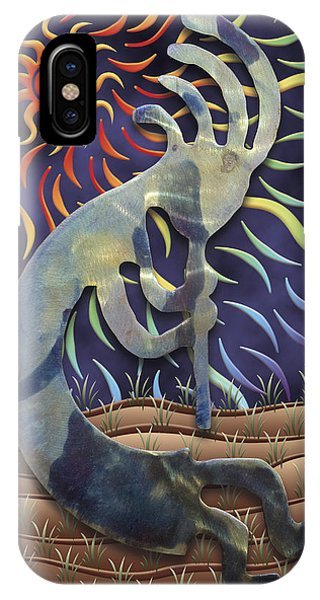 Kokopelli Spring IPhone Case