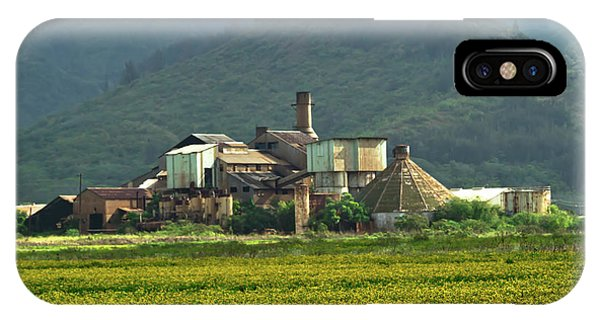 Koloa Sugar Mill IPhone Case