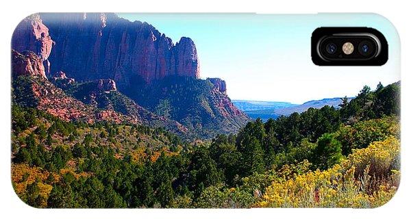 Kolob Canyon IPhone Case