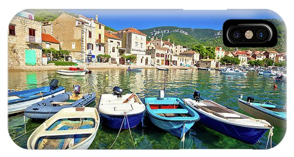 Komiza On Vis Island Turquoise Waterfront IPhone Case
