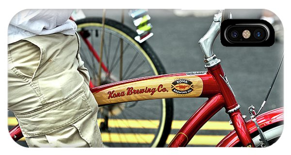 Kona Beer Bike IPhone Case