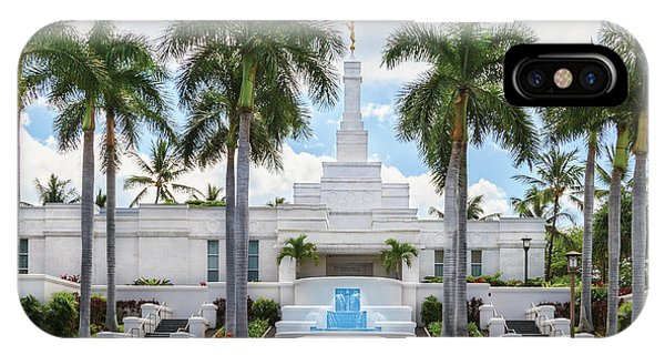 Kona Hawaii Temple-day IPhone Case