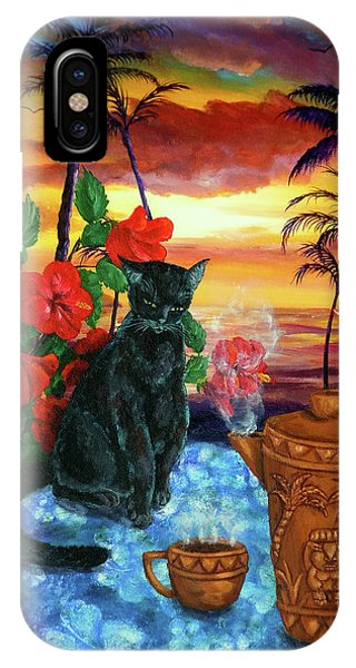 Hawaiian Sunset iPhone Case - Kona Kat by Laura Iverson