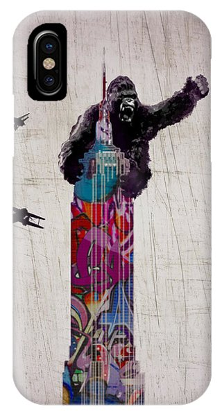 Empire State Building iPhone Case - Kong by Sara Sutton