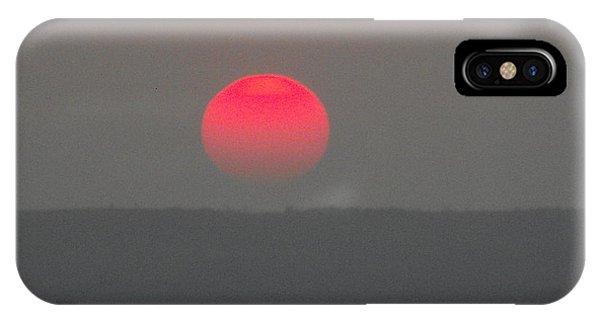 Konza Sunset IPhone Case