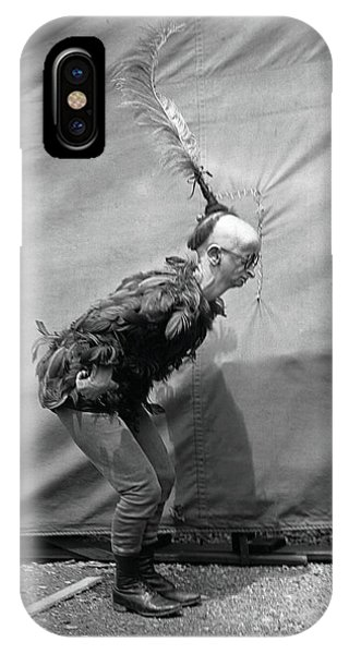 Barnum And Bailey iPhone Case - Koo Koo The Bird Girl Side by Unknown