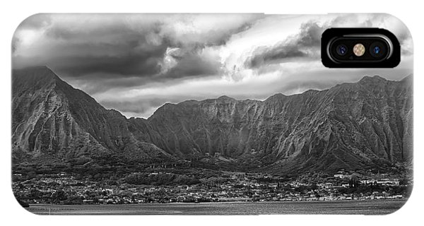 Ko'olau And H-3 IPhone Case