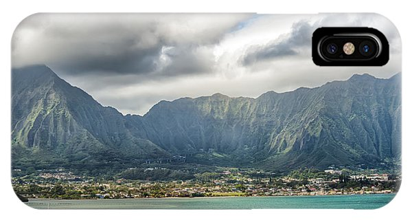 Ko'olau And H-3 In Color IPhone Case